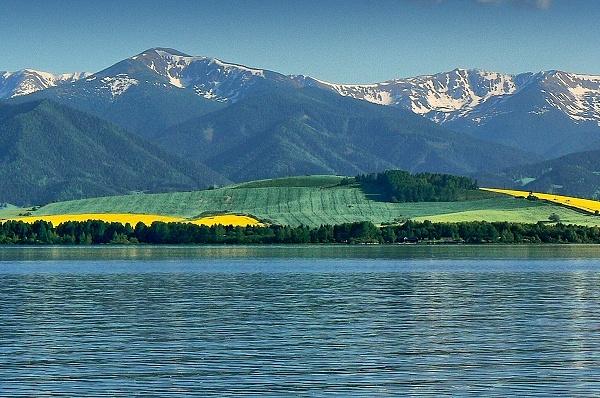 """Liptovská Mara - the """"Slovak sea"""""""