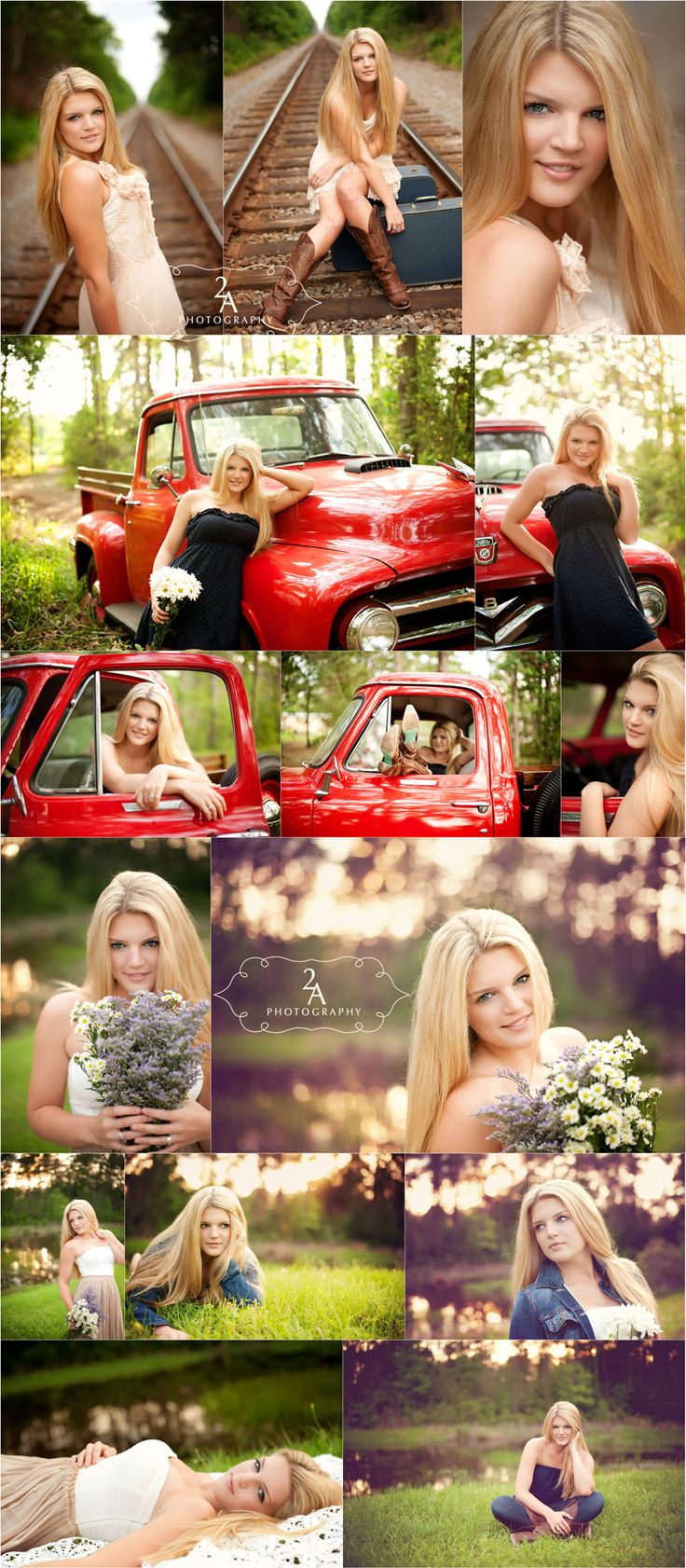 Love love loveeee the bouquet!  I don't see that in senior pictures often.