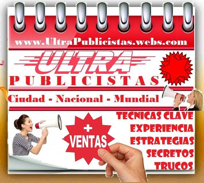 PYP. PAGINA Y PUBLICIDAD. MEGA PUBLICISTAS. SUPER VENDEDORES.  www.megapublicistas.webs.com