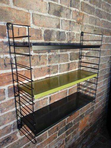 String shelves | Tomado | Black and Green