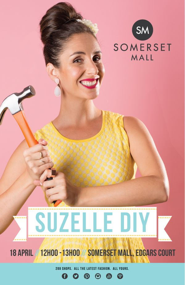Somerset Mall - Suzelle DIY event poster