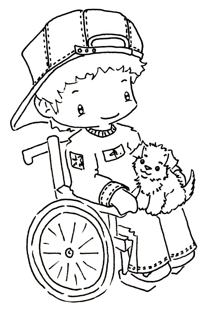 21 best Disabilities Day images on Pinterest | Coloring ...