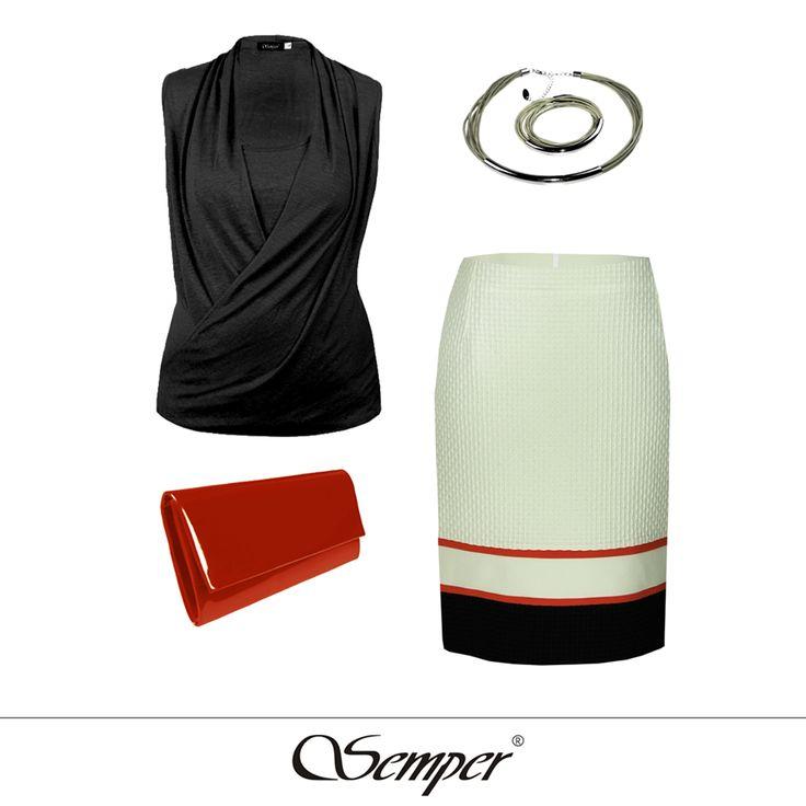 #casual #elegant #fashion #dress #fashionbrand #springfashion #summerfashion #summer2016 #skirt #orange #outfit #citylook