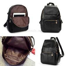 Женский рюкзак для путешествий из искусственной кожи сумочка девочек рюкзак через плечо школьная сумка