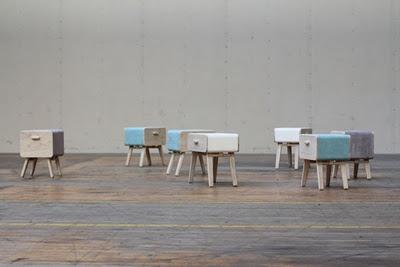 Cutest little stool/dresser by Rianne Koens!
