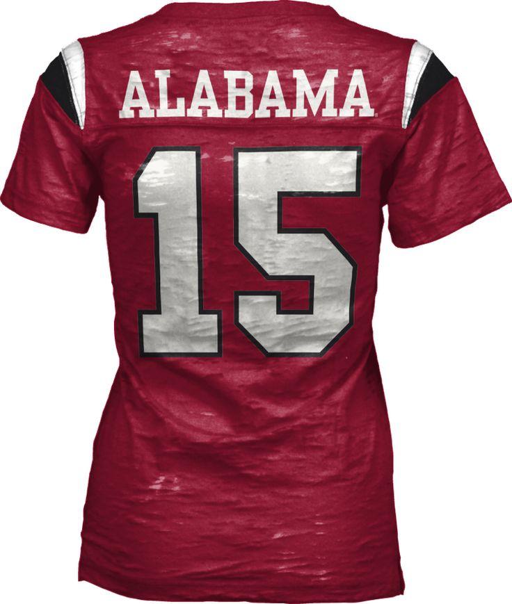 Alabama football V neck t shirt $45.00