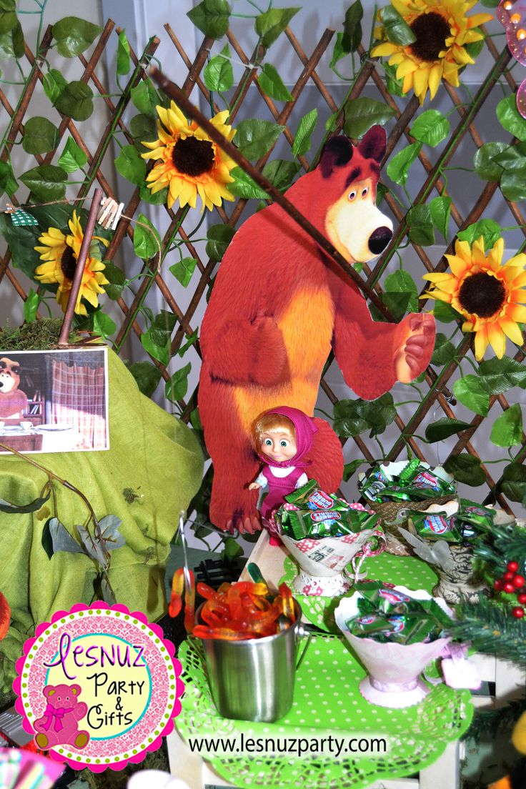 Tem 225 Tica Masha Y El Oso Lesnuzparty Masha And The Bear