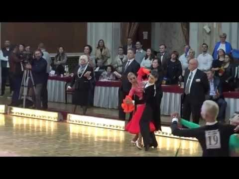 WDSF World Championship Junior II Ten Dance*MARIA SI COSMIN*Semifinal Qu...