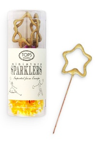 Perfect sparklers to welcome the new year