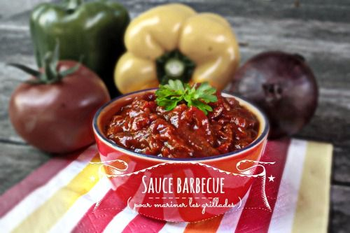 Sauce Barbecue (pour mariner les grillades)