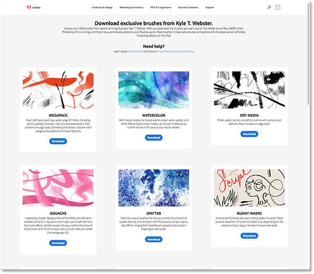 Get Over 1000 New Brushes In Photoshop Cc 2018 Brush Design