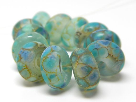 Made to Order 12 sea glass collectionlarimar by kreationsbykarenk, $29.00