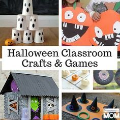 Halloween Class Party Crafts and Games