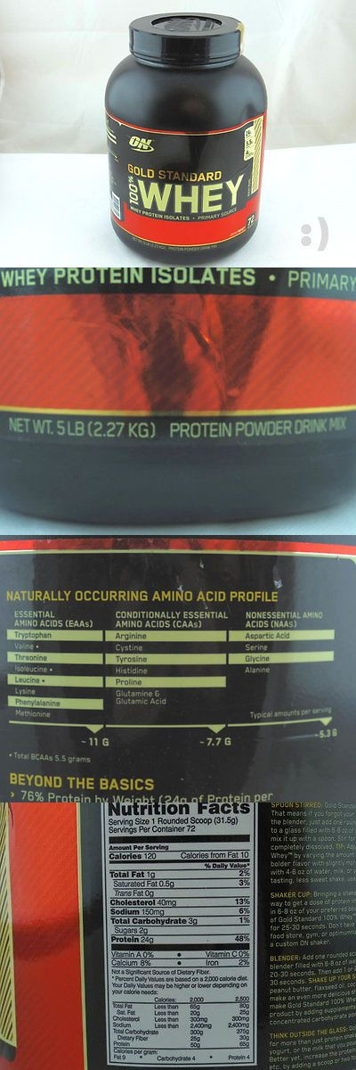 Protein Shakes and Bodybuilding: Optimum Nutrition 100% Whey Gold Standard, Rocky Road, 5 Pound Exp. 3 18 -> BUY IT NOW ONLY: $50.81 on eBay!