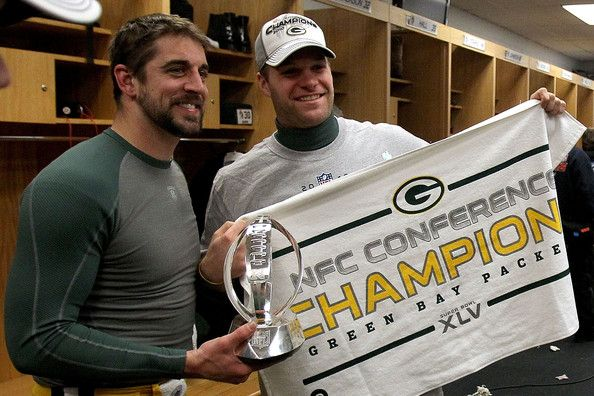 Aaron Rodgers and Matt Flynn