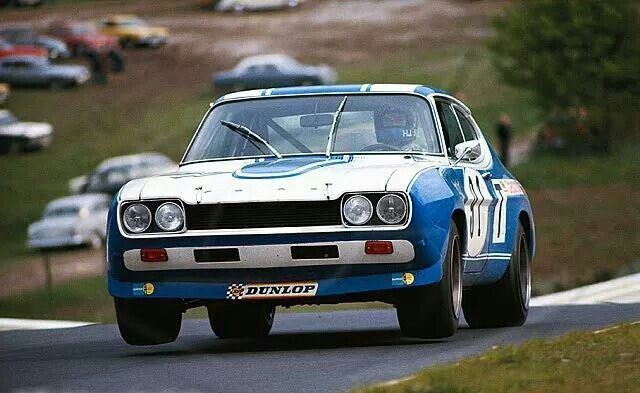 hans joachim stuck in the 1972 ford capri 2600 rs. Black Bedroom Furniture Sets. Home Design Ideas