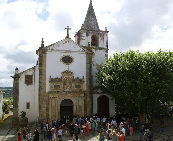 The Church of Santa Maria in Obidos