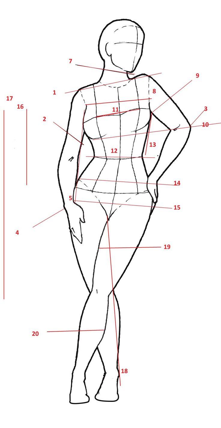Картинки фигуры человека для моделирования