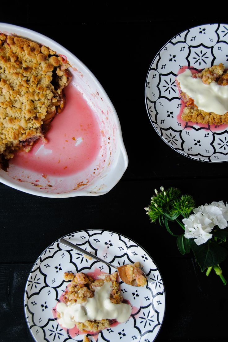 let´s get ready to crumble! zwetschgen crumble