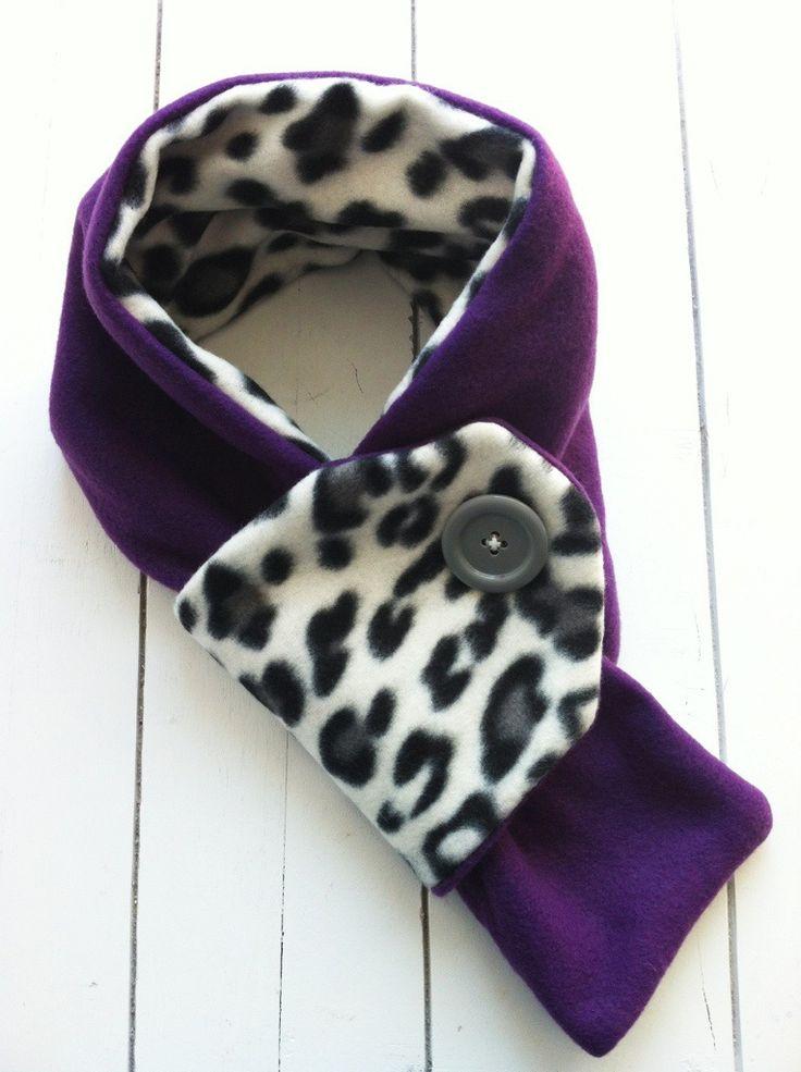 toddler fleece scarf