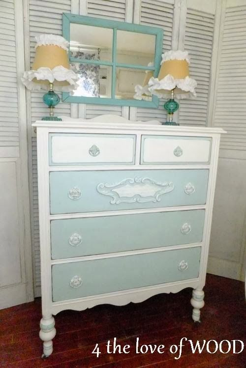 This may not be blue exactly, but I love the idea of it being blue.  Too cute!