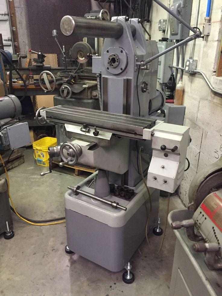 Restored Rockwell Horizontal Mill Machine Shop Pinterest