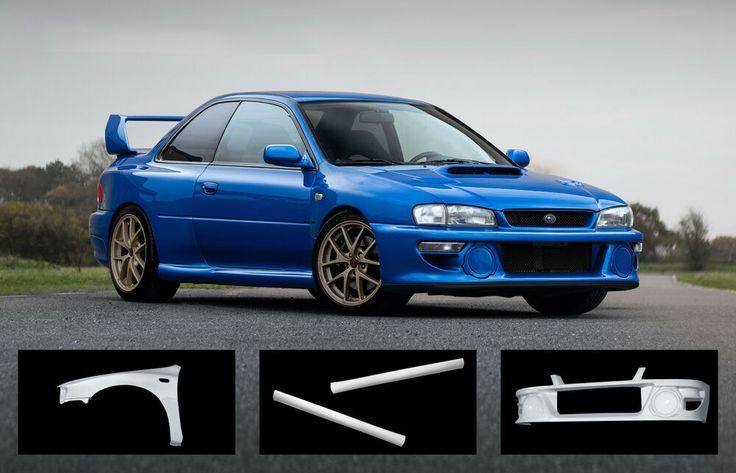 Subaru Impreza 22B Widebody, Rally Body Kit WRX STI  | eBay
