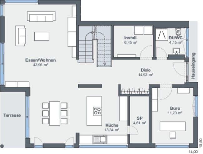 WeberHaus – Maison d'architecte librement conçue dans le style Bauhaus