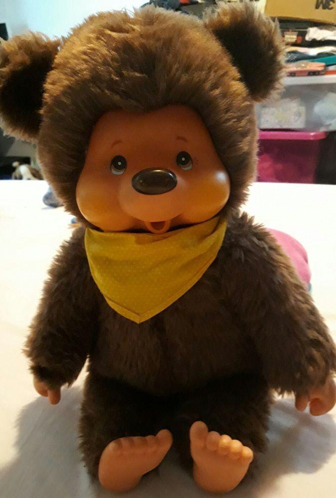 Vintage 15  Sekiguchi/ monchhichi Toby  bear  | eBay