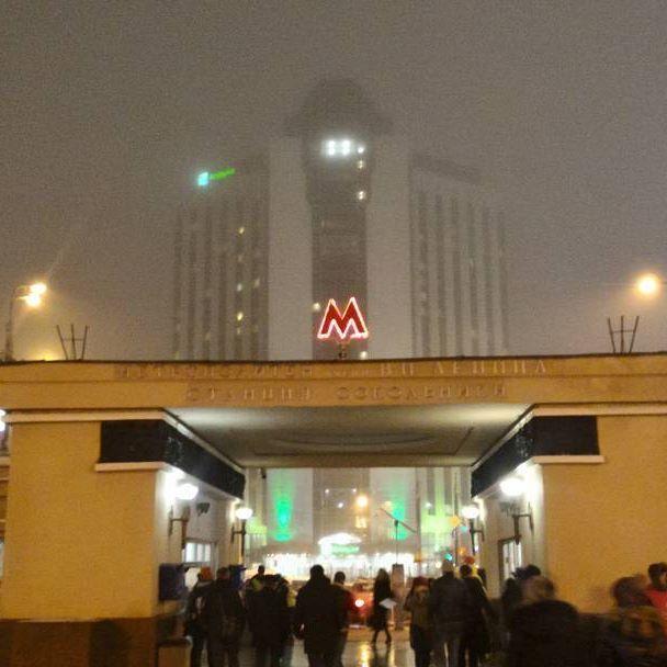 #станция #метро #Сокольники в #Москва  #мосметро   Заключила ещё один договор и сделала поставку браслетов и сумок от #FioreLuna в тц #ПрестижМ, 2 этаж, у Бургеркинг :)
