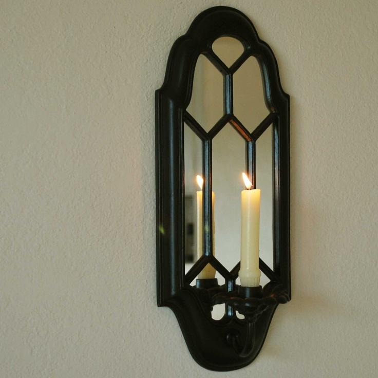 Black Goth Mirror