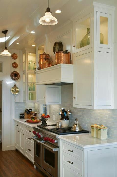 concealed over heard stove fan / creating shelf for items