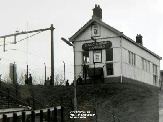 Oude station leidschendam voorburg 1969