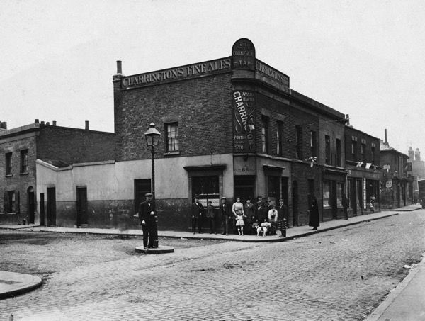 The Commercial Tap, 66 Ben Jonson Rd, Stepney, E1 (Opened 1881 and closed 1934, now demolished)