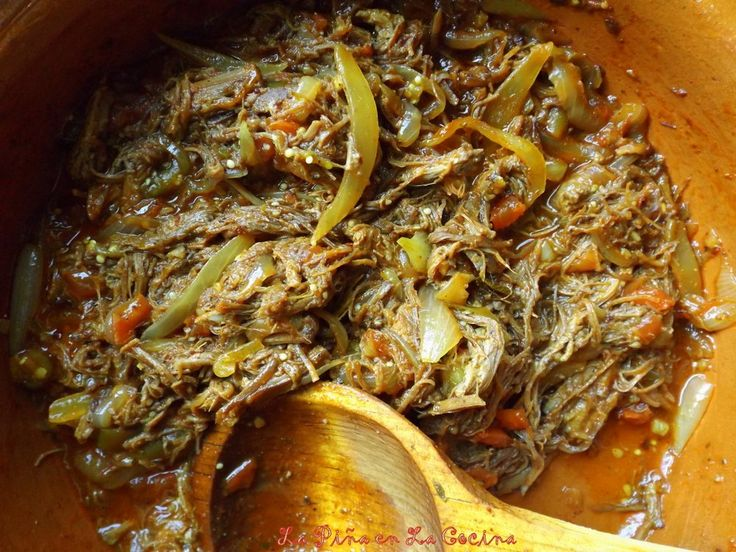 Tinga de Res-Shredded Beef In A Chipotle Salsa