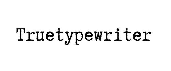 40 fontes tipográficas Excelentes para imitar velhas máquinas de escrever | TodoGraphicDesign