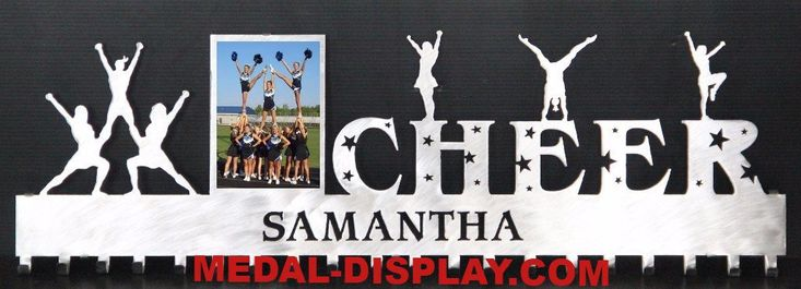 Cheer Medal Awards Rack: Personalized Cheerleading Medals Holder: Cheer Medals Hanger #anniversay-plaque #fencing-medal-holder #gymnastics-awards-display #gymnastics-medal-hanger #gymnastics-medal-holder #gymnastics-medals-display #medal-display #medal-hanger #medal-hanger-gymnastics #medal-hangers #medal-holder #medal-holder-gymnastics #medal-holder-wrestling #personalized-gymnastics-medal-display #personalized-plaque #trophy-shelf-personalized #wall-plaque #wrestling-medal-display…