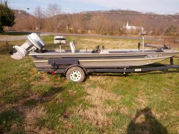 17' AlumaCraft Bass Fishing Boat For Sale