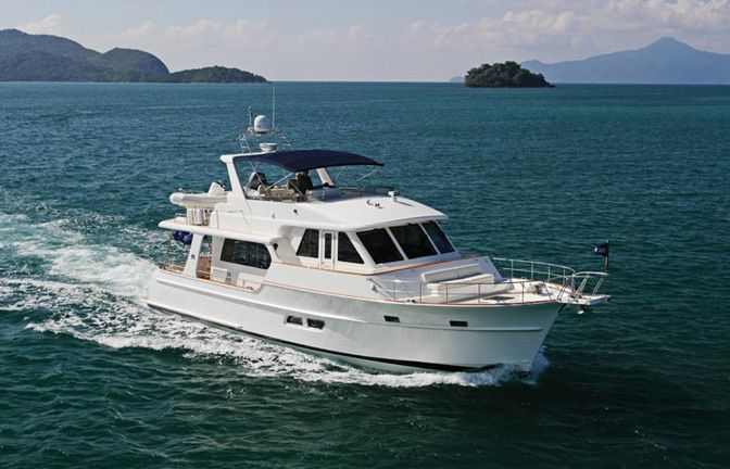 HMY Yachts | Grand Banks Yachts Aleutian Series 53RP