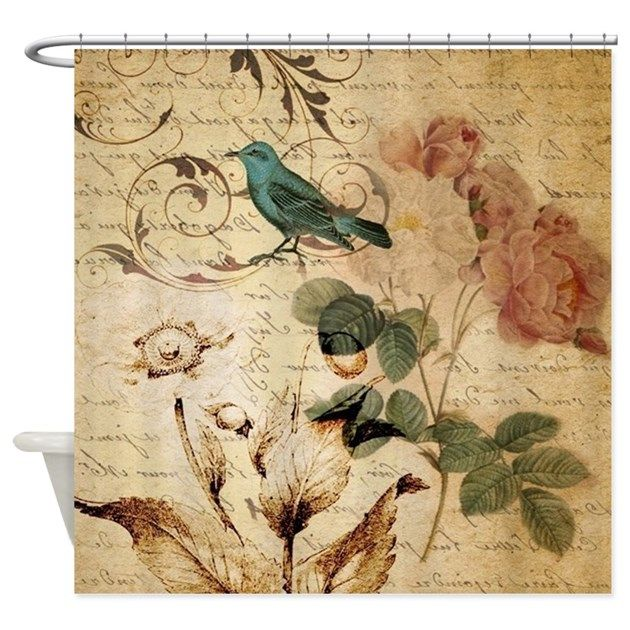 instantly update your bathroom with a customized shower curtain that looks great and helps keep your