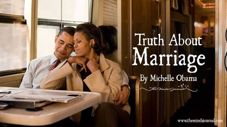 Truth About Marriage: A Post By Michelle Obama That Every Couple Should Read - https://themindsjournal.com/michelle-obama-marriage-truth/