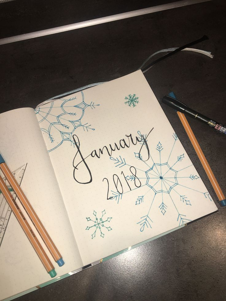 First page ever ❄️❄️
