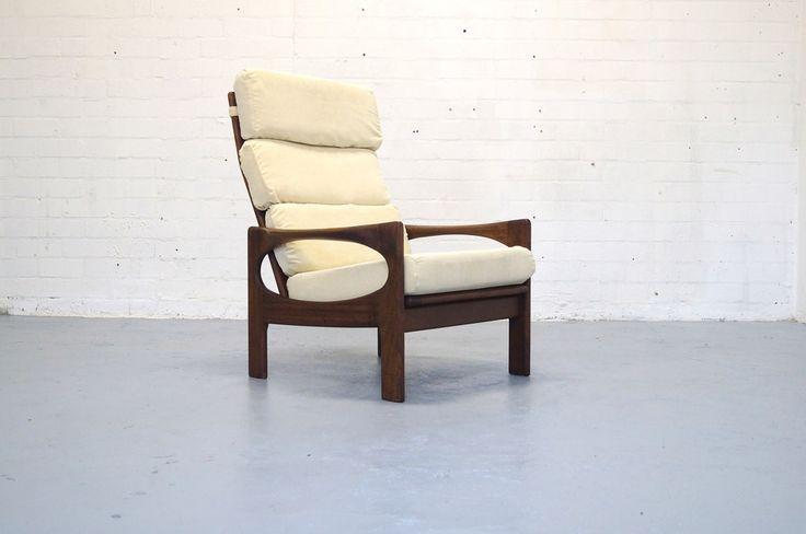 Vintage fauteuil easy chair Deens design teak jaren 50 60 vonvintage Gelderland (vonvintage.nl) Tags: century vintage design bureau furniture retro string 50 mid 60 kast nisse jaren industrieel pastoe webe braakman industriele vonvintagenl