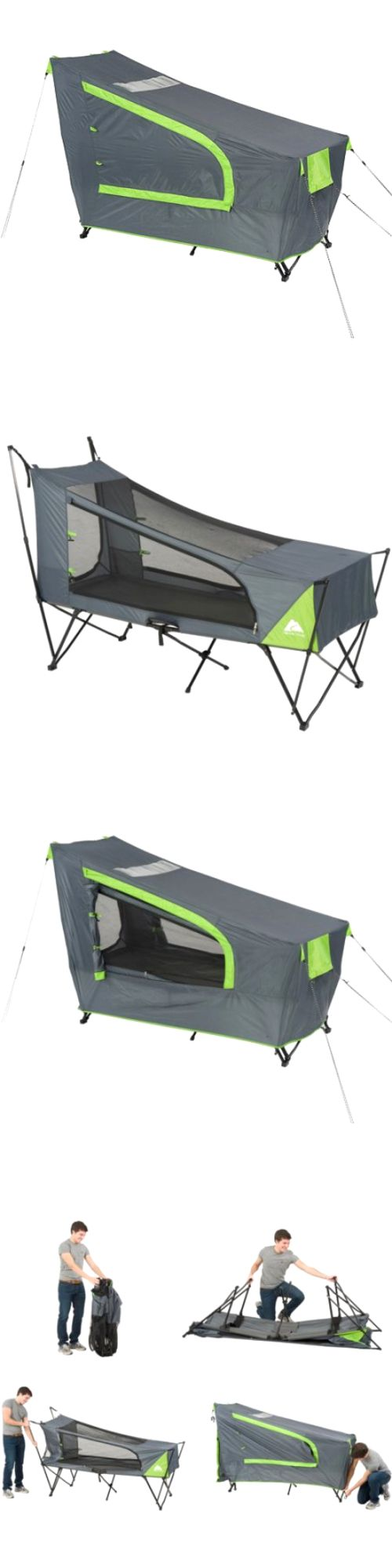 Tents 179010: Ozark Trail Instant Tent Cot With Rainfly, Sleeps 1 -> BUY IT NOW ONLY: $90.6 on eBay!