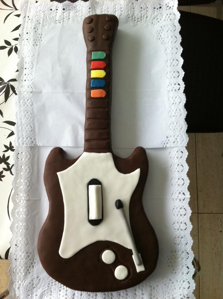 Guitar Hero cake / Pastel Guitar Hero
