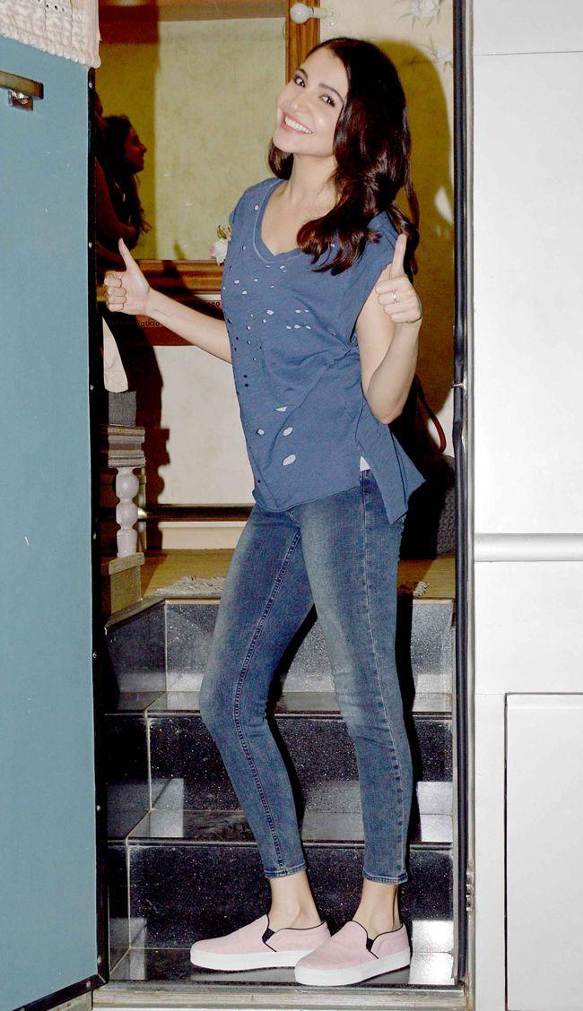 Anushka Sharma at a promo event for Dil Dhadakne Do. #Bollywood #Fashion #Style #DilDhadakneDo #Beauty