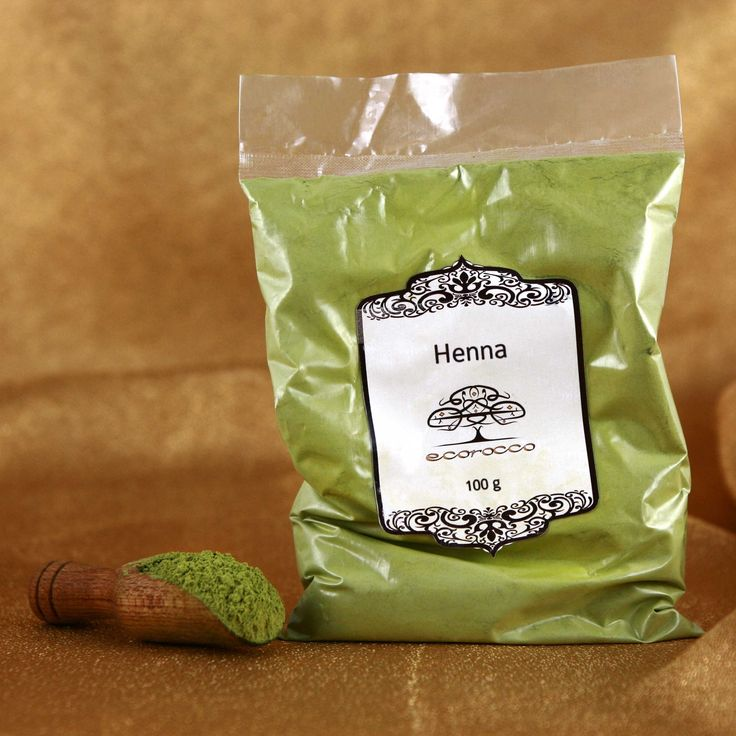 Henna - universal and famous arabic cosmetic. Great for natural change of hair color, temporary tattoos. Applied on skin gives it natural, glowing tan.