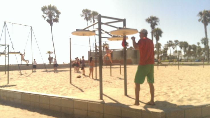Workout, Venice Beach, CA
