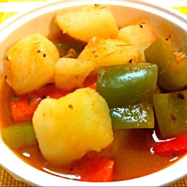 レシピとお料理がひらめくSnapDish - 7件のもぐもぐ - Delicious Chile con papas (vegetarian) by Jorge Bernal Márquez