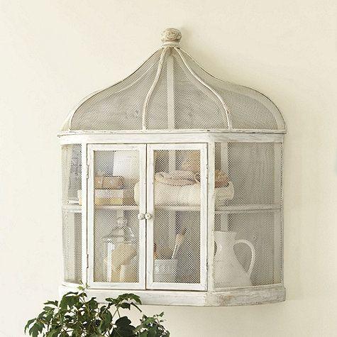 Aviary Birdcage Decorative Shelf